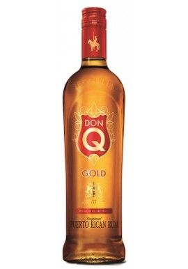 RON DON Q GOLD 70 Cl. 40 % sin tapon irrellenable
