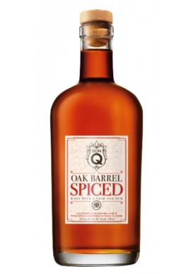 RON DON Q OAK BARREL SPICED 70 cl. 45%