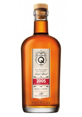 RON DON Q SINGLE BARREL 2005 70 cl. 40 %