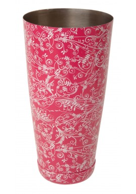 Boston Can Pink Floral 28 oz.