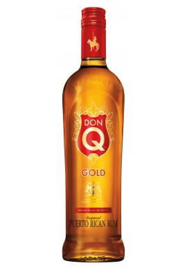 RON DON Q GOLD 70 Cl. 40 % con tapon irrellenable